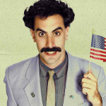 薩夏.拜倫.柯恩扮演哈薩克記者「芭樂特」探索美國文化。