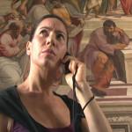 德莉亞.法瑟與虛構語音導覽作品。