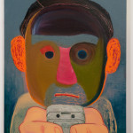 艾森曼 分手 2011 油彩複合媒材畫版 142×110cm 洛杉磯私人收藏 Courtesy the artist and Susanne Vielmetter Los Angeles Projects 攝影:Robert Wedemeyer